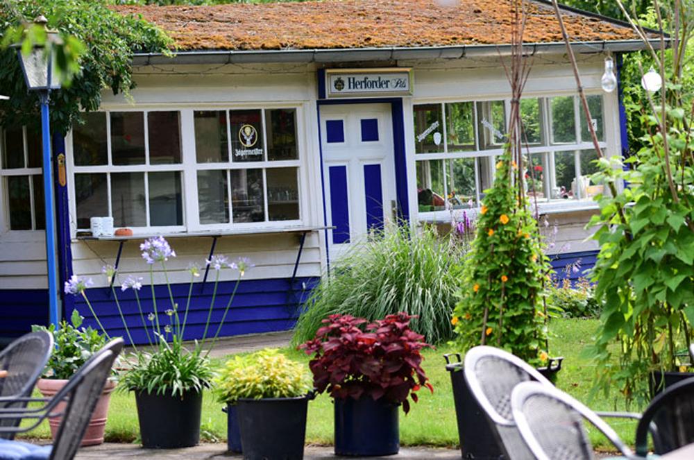 Kleines Garten Café